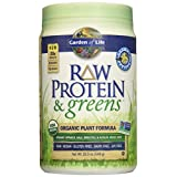 Garden of Life Raw Protein and Greens Vanilla 19.7 oz (557g) Powder