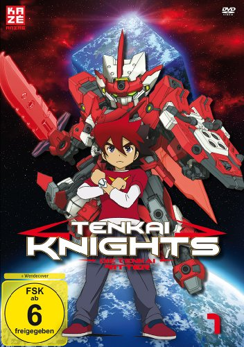 Tenkai Knights, Volume 1 - DVD