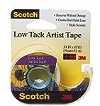 "Scotch Low Tack Artist Tape-.75""X10 Y..."