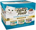 Fancy Feast Gourmet Cat Food, Grilled...