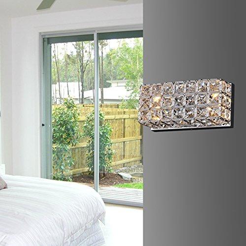 Mur carré moderne et minimaliste Crystal Applique