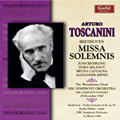 Missa Solemnis/Violin Concerto