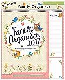 2017 Famille Organisateur Calendar Planner & Pen + Arpan gratuit pour ordinateur portable - Garden Design...