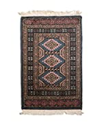 Navaei & Co. Alfombra Kashmir Marrón/Multicolor 96 x 60 cm