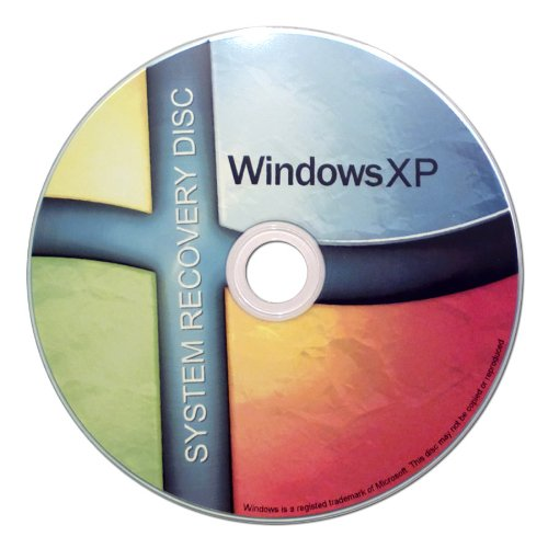 Windows XP Recovery Boot Disc Disk CD [ALL VERSIONS,