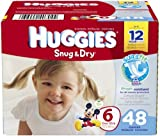 Huggies Snug & Dry Disney Baby Stage 6 Diapers (Over 35 lb) - 48 CT