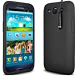 Bluetrade Silicone Case with Stylus for Samsung Galaxy S3 - Black