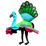 Peacock Hape Hand Glove Puppet Peacock Multi Color