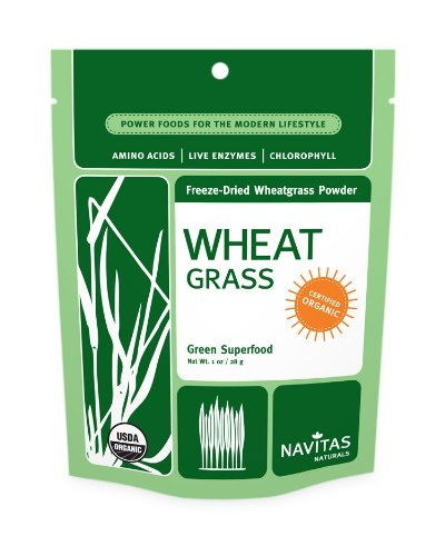Navitas Naturals Wheatgrass Powder Freeze-Dried