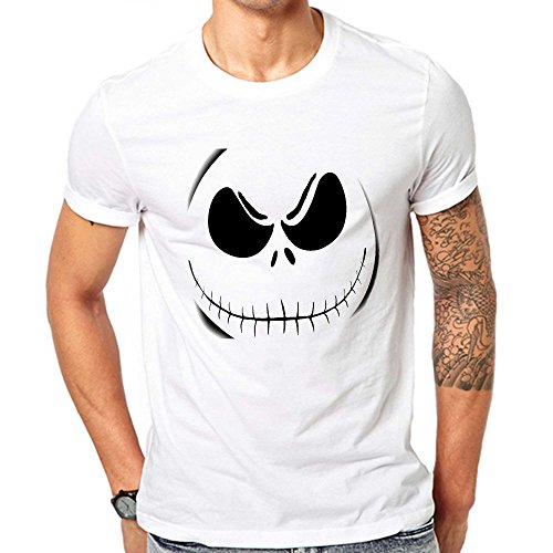 GullPrint Men's Halloween Scary Face T Shirt