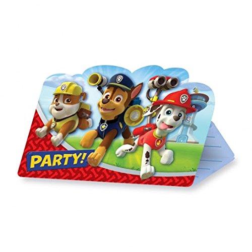 Paw Patrol Postcard Invitations (8) Invites
