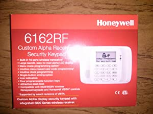 Honeywell 6162rf Custom Alpha Receiver/security Keypad Replacement for 6160rf