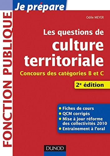 Les questions de Culture territoriale