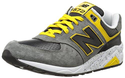 New Balance Men'S Mr572 Halloween Running Shoe,Grey/Yellow,11 D Us