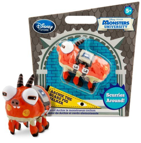 Archie The Scare Pig Mini-Walker Toy - Monsters University - 1