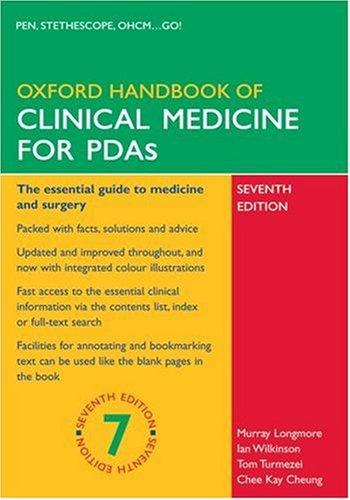 Oxford Handbook of Clinical Medicine for PDA (Oxford Handbooks)