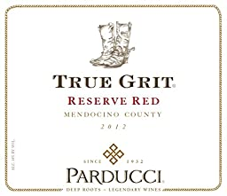 2012 Parducci True Grit Reserve Red 750 mL Wine