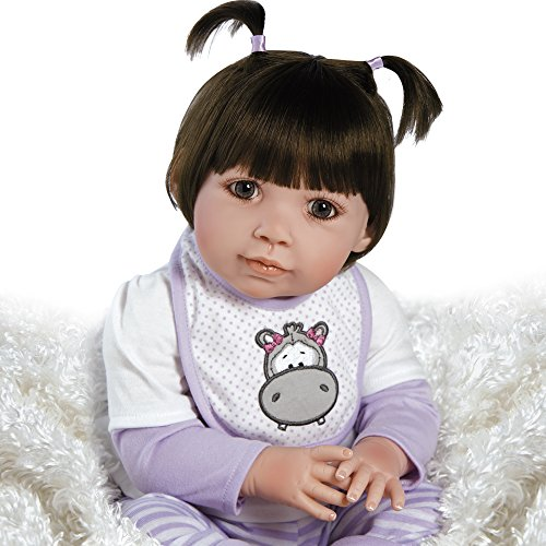 Paradise Galleries Collectible Baby Doll, Realistic Toddler - Hippolina, 21 inch in GentleTouch Vinyl
