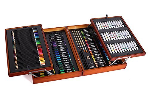 Mont Marte  174 Piece Studio Essentials Mixed Media Art Set Case