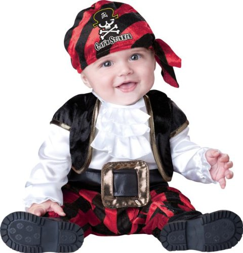 Cap'N Stinker Pirate Baby Costume, 12-18 Months front-255014