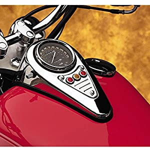 Cobra Vulcan Dash fluted Plaque for Kawasaki 2006-2014 VN 900 models - One Size