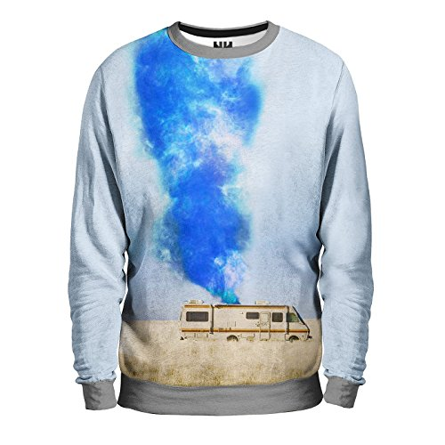 BREAKING BAD - Sweatshirt Man - Felpa Uomo - Serie TV, T-Shirt Heisenberg Walter White, Los Pollos Hermanos