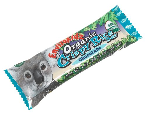 EnviroKidz Organic Koala Crispy Rice Bars, Chocolate, 6-Count Bars (Pack of 6)