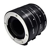 Opteka Auto Focus DG EX Macro Extension Tube Set for: Amazon.co.uk: Camera & Photo