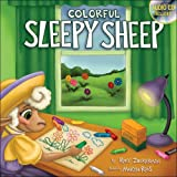 Colorful Sleepy Sheep