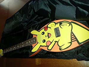 Rare Pikachu Electric Guitar