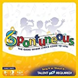 Spontuneous - Family Board Game Night - The Game Where Lyrics Come to Life! Sing It or Shout It....Talent NOT Required! (Best Gifts / Party Games for Kids, Children, Teens, Tweens, Adults & Families, Boys or Girls)