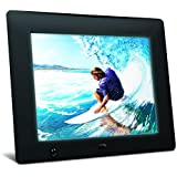 NIX X08D 8 inch Hi-Res Digital Photo Frame with Motion Sensor