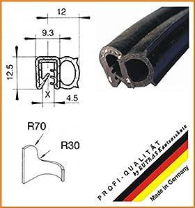 Dichtungsprofil (4 Längen, ab EUR 4,76/ m) KSD2055 Kantenschutz Gummidichtung Länge 20 m  BaumarktKundenbewertung und Beschreibung