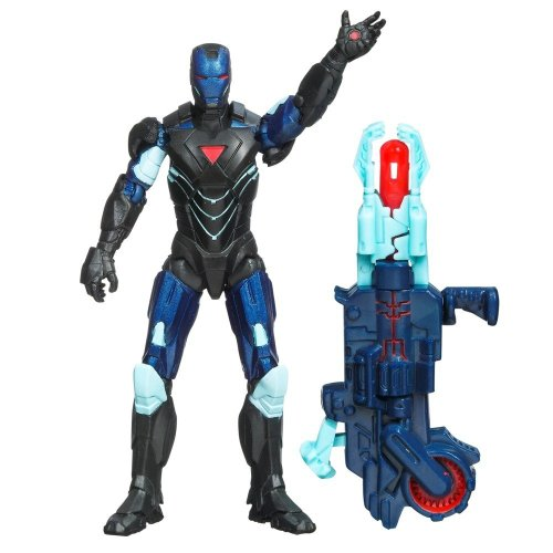 The Avengers 2012 Movie Series Reactron Armor Iron Man Mark VI 4 inch Action figure