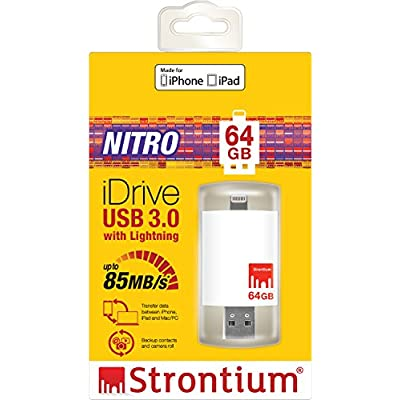 Strontium Nitro iDrive 3.0 OTG Pendrive for iOS 64 GB Utility Pendrive