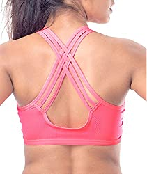 Spangel Fashion New Fancy Sports Bra (Free Size, Size of 28 to 36)