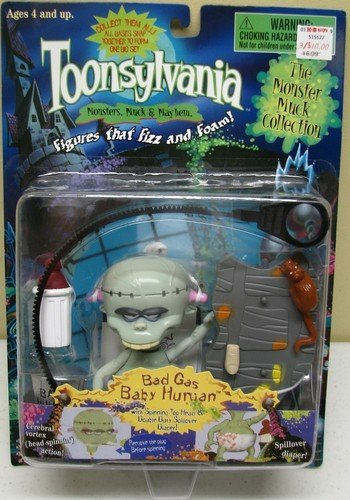 Bad Gas Baby Human: Toonsylvania: Monsters, Muck & Mayhem Action Figure