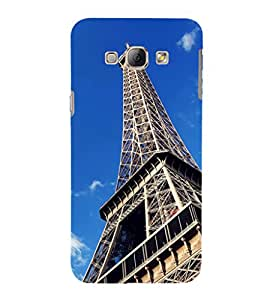 ifasho Designer Phone Back Case Cover Samsung Galaxy A8 (2015) :: Samsung Galaxy A8 Duos (2015) :: Samsung Galaxy A8 A800F A800Y ( I love Chennai Blue and Wood Look )