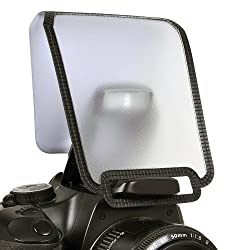 Opteka PD-10 Universal Soft Screen Pop-Up Diffuser for Canon EOS,Nikon,Pentaxm,Sony,Olympus On-Camera Flash