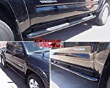 Fits 2005-2014 Toyota Tacoma Double Cab Black Side Step Nerf Bars