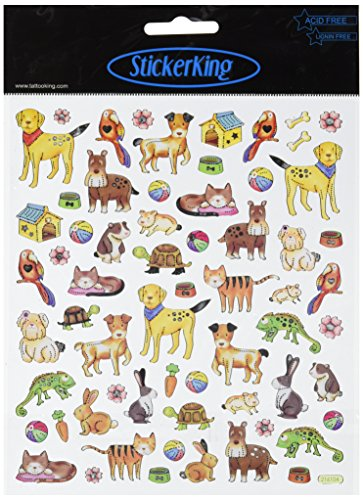 Multi-Colored Stickers-Pets