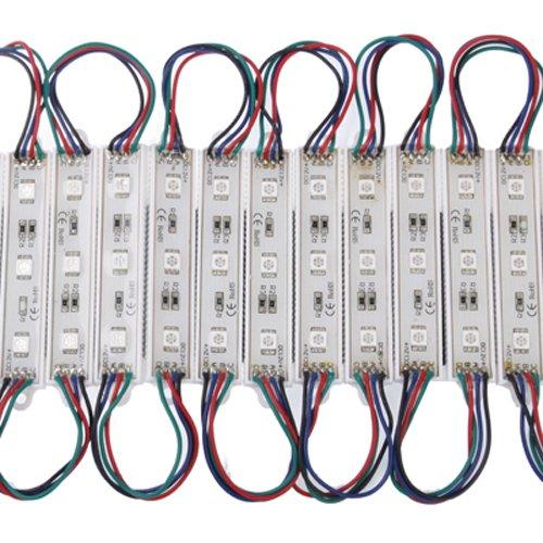 Puluz Dc 12V 20 Lines 3 Pcs Led Rgb 5050 Smd Led Module Light Strip