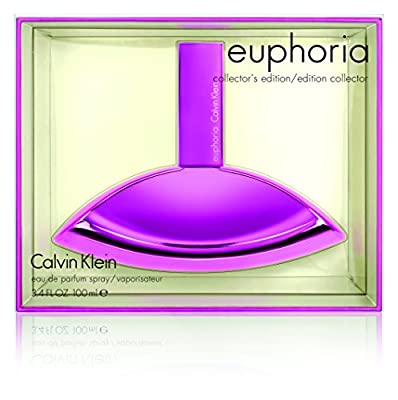 Calvin Klein Euphoria Eau de Parfum Spray Holiday Limited Edition, 3.4 Ounce
