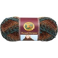 Lion Brand Yarn Tweed Striped Yarn