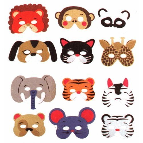 Animal party masks !