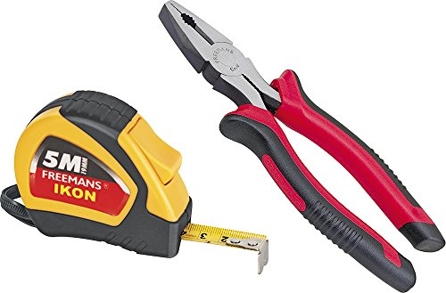 freemans Ikon 5m Measuring Tape and Plastic Plier