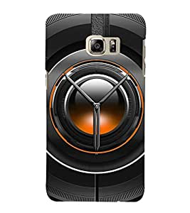 BLACK LENS DEPICTING THE POWER OF PHOTOGRAPHY 3D Hard Polycarbonate Designer Back Case Cover for Samsung Galaxy Note 5 Edge