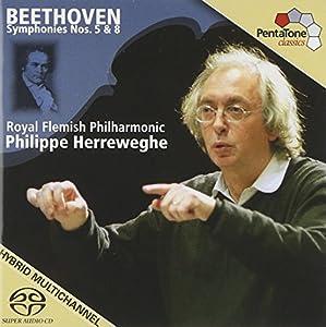Symphonies Nos.  5 & 8