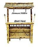RAM Gameroom Products 60-Inch Bamboo Tiki Bar