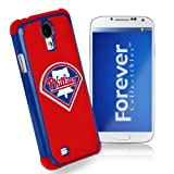 Forever Collectibles Philadelphia Phillies Rugged Dual Hybrid Samsung Galaxy S4 Case
